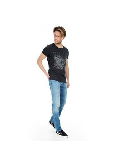 Five Pocket Jean Pantolon Mavi